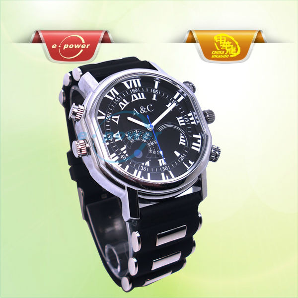 E-Power High Tech Wrist Watch Camera ER0568C