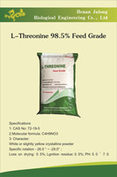 L-Threonine 98.5% Feed Grade, Feed Additive, Amino Acid