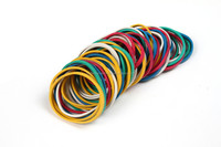 Small Elastic Band , Colored Natural Rubber Band New Products