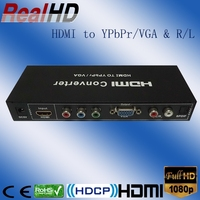 New hot sale coax HDMI to VGA converter/full hd strong receiver