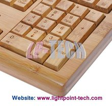 All Nature Full Bamboo Mechanical Keyboard & Mouse Combo