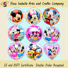 Yiwu Facrtory Party Supply Cartoon Character Helium Foil Minnie Mouse Balloon For Kids Toys Party Decoration