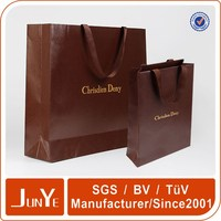 Top brand customized Large white paper bags packaging