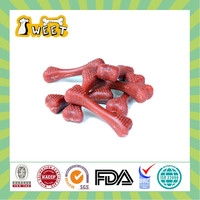 Hot selling beef flavor nubby bone low protein dog treats