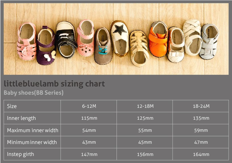 2016 littlebluelamb infant soft leather baby shoes toddler shoe new design BB-A3119-GY