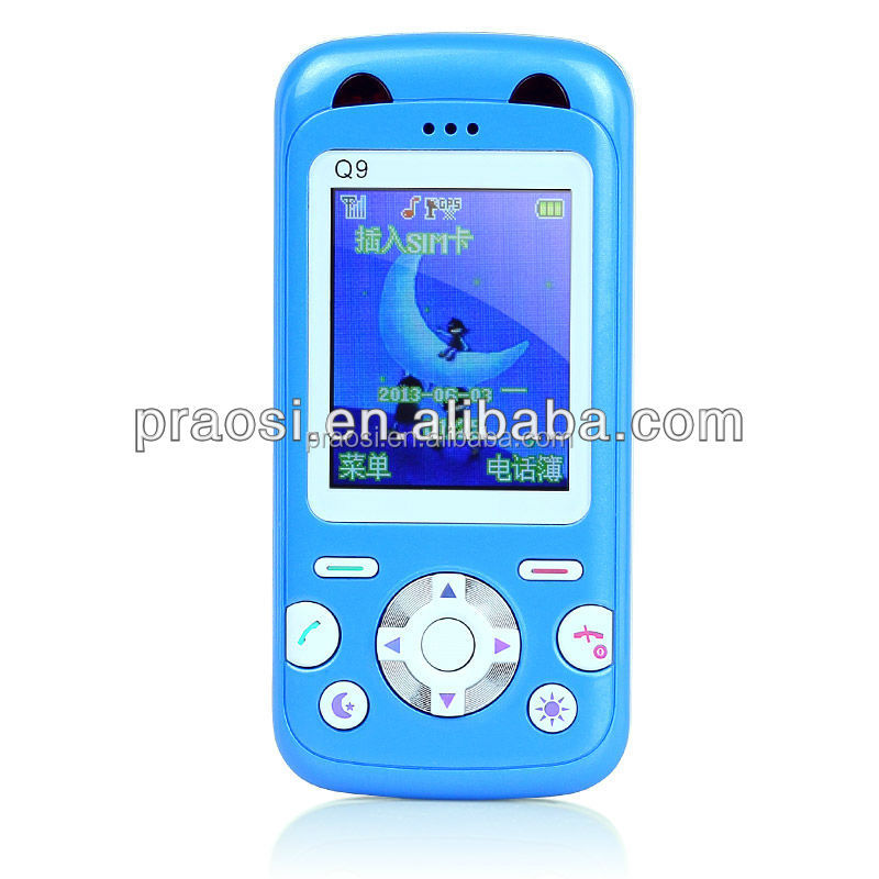 Remote monitor MP3 function Low RF baby kids children mobile phone gps tracking device
