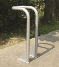 Outdoor bike parking rack metal bicycle carrier
