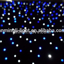 LED single color star cloth / led twinkling star curtain / DMX 512 stage curtain