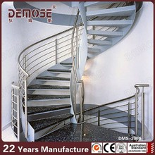 residential steel stairs/ seamless steel casing