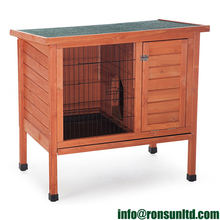 Cheap Bunny Cages Natural Outdoor Rabbit Hutch