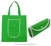 2016 Reusable and Foldable Tote Recyclable PP Non Woven Shopping Bags