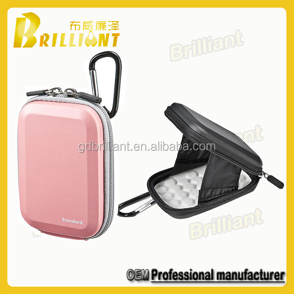 Luxurious Water Proof PU Eva Camera Zipper Case/bag