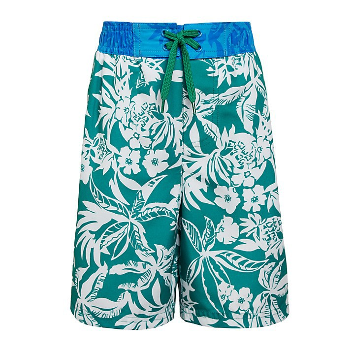 100% polyester Dri fit Summer Children Full printed Beach shorts / Children Boys Digital Printed Beach shorts