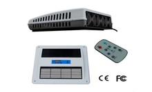 12V used split rooftop air conditioner for dc voltage car