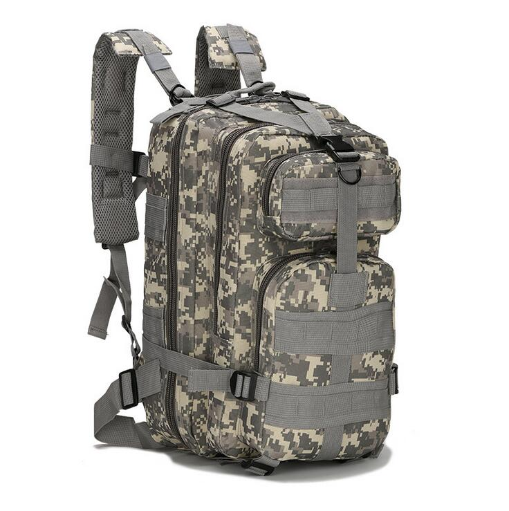 Outdoor Waterproof 3P Travel Camo Hunting Military Backpack Tactical