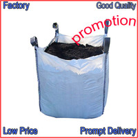 high quality heavy duty plastic bags 500kg waterproof ton bag for cement