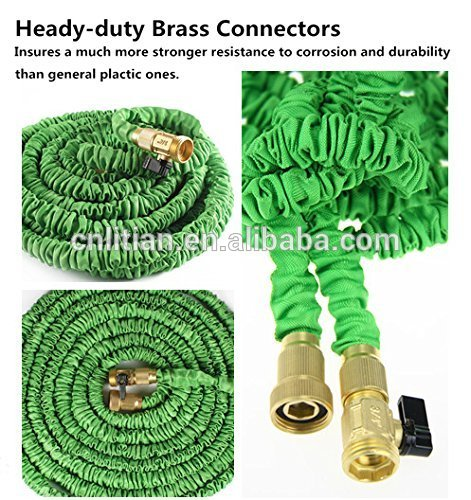 super quality hot-selling newest garden products water hose quick connector for garden watering elastic expandable hose