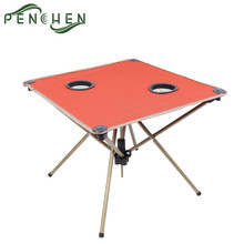 Mini Outdoor Portable Oxford Picnic Camping Folding Table