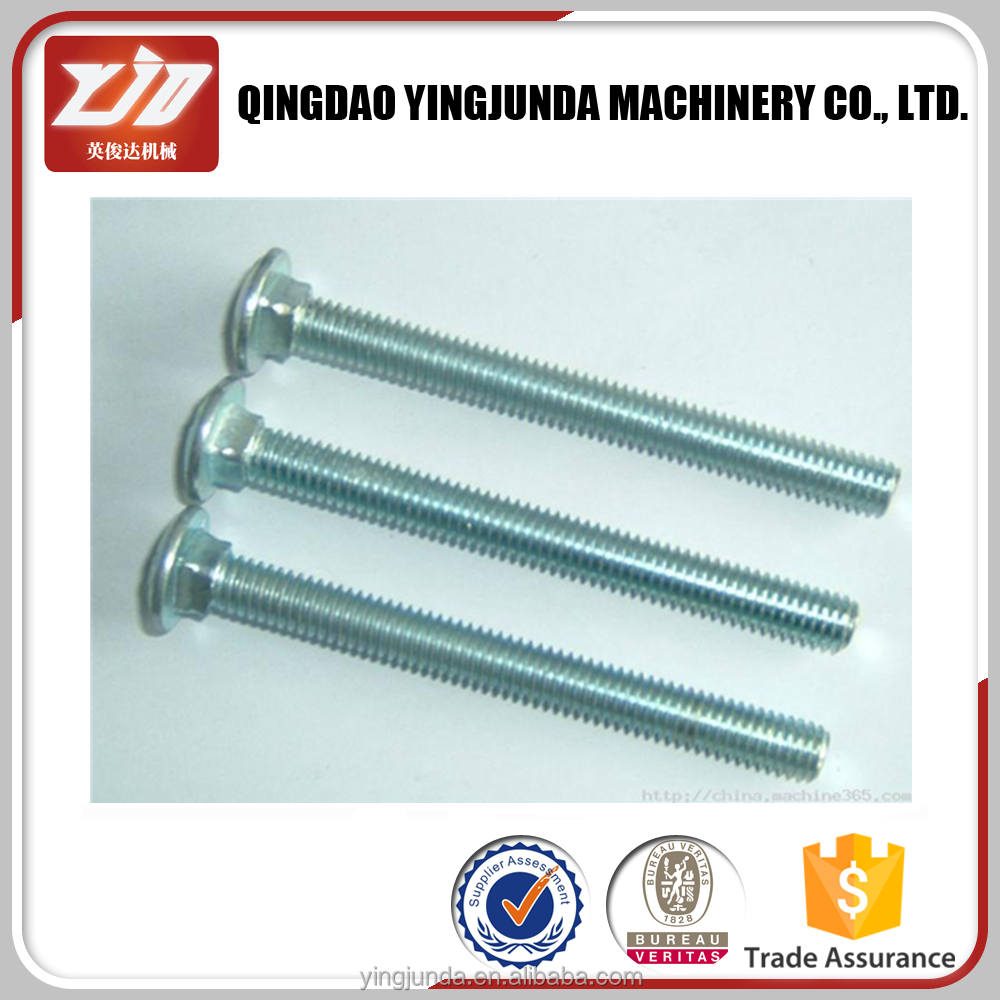 DIN603 round head carriage bolt
