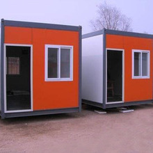 Easy assembly prefabricated 20ft luxury movable living container house