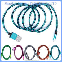 2015 wholesale colorful micro usb cable for usb cable micro digital caliper data cable for power bank
