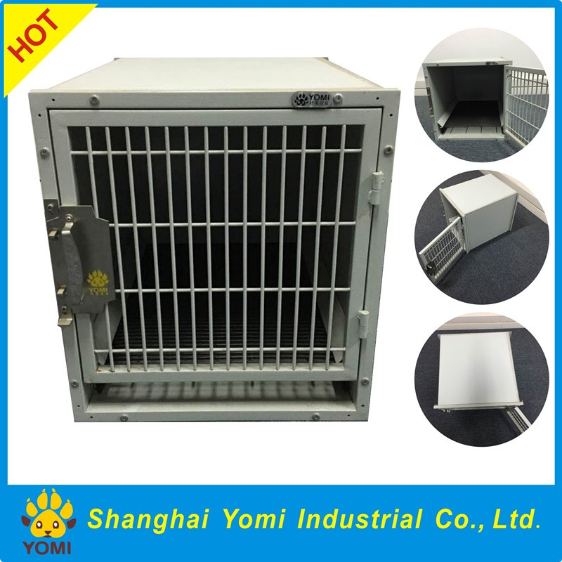 Yomi iron stainless steel dog cage for pet hospital