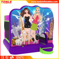 hot sale inflatable TRENDY GIRLS BOUNCER, inflatable bouce house, inflatable jumper