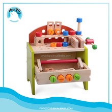 Alibaba China Construction Tools Set Car for Kids Games Wooden Educational Toys for Children