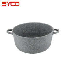 OEM Professional Made marble Casserole Hot Pot