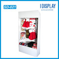 Multipurpose retail store floor hook display stand for goods