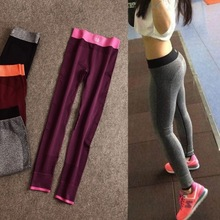 Autumn quick-drying <strong>sport</strong> pants female fitness jogging sweat pants tight thin yoga pants