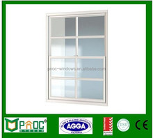 Made in China door and windows, American style single hung windows with top brand hardware