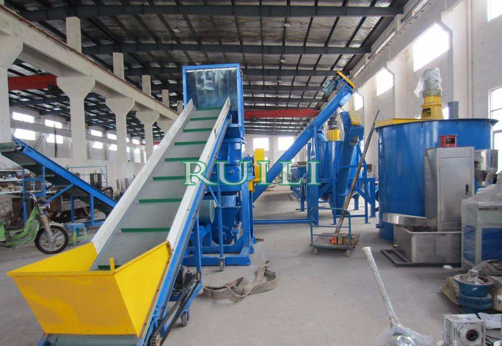 Film/Bottle Plastic Recycling Machine Waste PP PE PET PVC Plastic Washing Line
