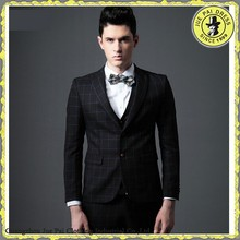 Fashion Checked Wedding Party Dresses For Men