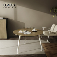 modern wooden office furniture conference round table