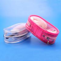 Zip lock manufacturer pink plastic bone mesh PVC bag