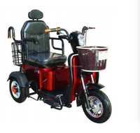 2017 certificated 3 wheel shopping electric tricycle for handicapped