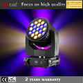 19x40w bee eye concert light moving head zoom stage lighting