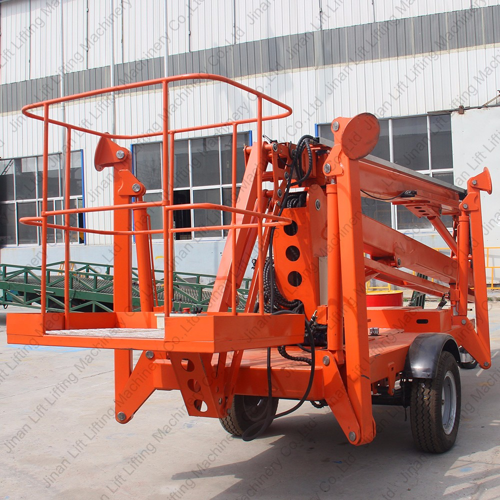 Hydraulic Boom Lifts For Pickups : Hydraulic truck mounted towable articulated boom lift