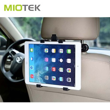 2017 latest fashion top design car accesories car back seat table tablet pc holder mount