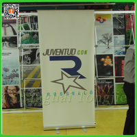 popular advertising display stand roll up banner poster board