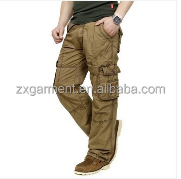 OEM MADE IN CHINA FRC CLOTHING WORKING Khaki Uniform Pants