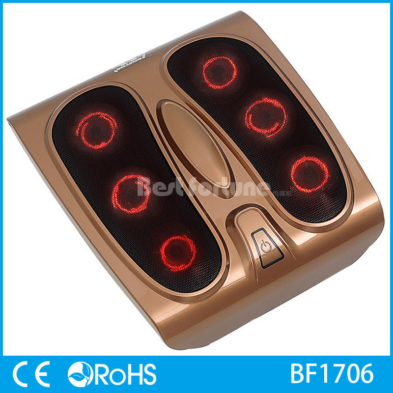 Reflexology Therapy Infrared Heated Foot Massager