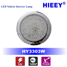 factory wholesale 12v auto led dome light12V Voltage and Courtesy Light Type 12v led interior light circular led light