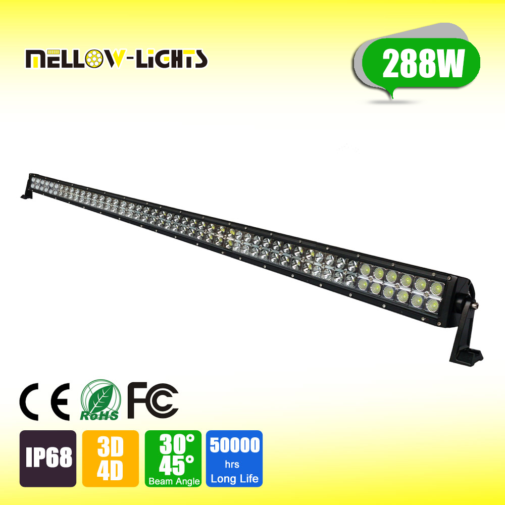 china manufacture 288W auto car parts exterior car tuning multi color high power tail light bar