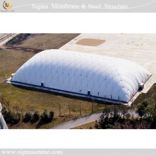 Outdoor sport center roof canopy for sale inflatable construction air dome tents