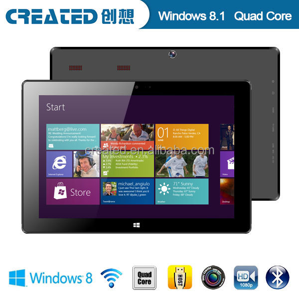 Shenzhen win8.1 tablet 1280*800 IPS capacitive touch new promotional 10.1 inch tablet MID
