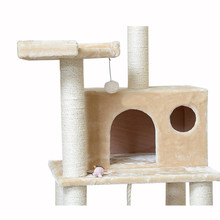 new model cat scratch post kitty tower with cat playground