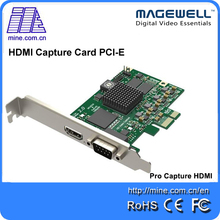 PCI express hd PS online game sharing video capture master 1080p hdmi video card for mac pro capture card