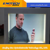 Transparent LCD screen display box for advertising, wine,ipad,perfume